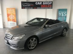 MERCEDES E-CLASS E250 CDI BLUEEFFICIENCY SPORT CONVERTIBLE - 1144 - 1