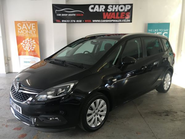 Used VAUXHALL ZAFIRA TOURER in Newport, South Wales for sale